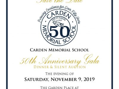 Carden 50Th Anniversary Save The Date